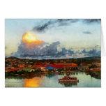 Antigua Evening Card