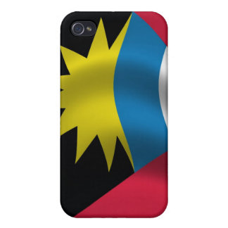 Antigua Flag for iPhone 4 Covers For iPhone 4