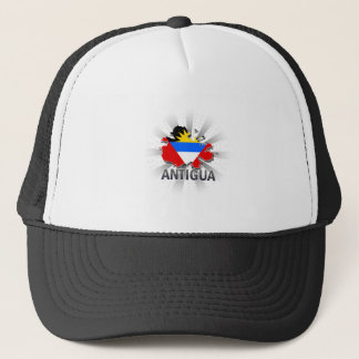 Antigua Flag Map 2.0 Trucker Hat