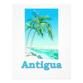 Antigua Personalized Flyer