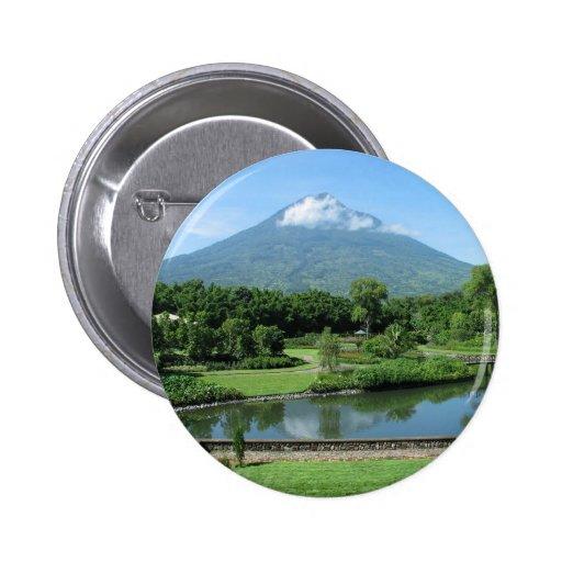 Antigua Guatemala Pin Redondo 5 Cm