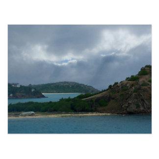 Antigua Harbor Islands Postcard