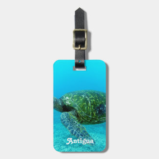 Antigua Hawk Billed Turtle Tag For Bags