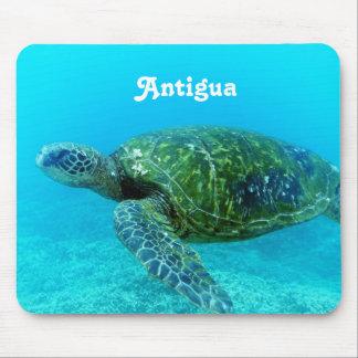 Antigua Hawk Billed Turtle Mouse Pad