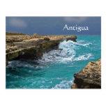 Antigua, Indes del oeste, postal del recuerdo