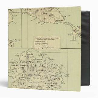 Antigua Lithographed Map Binder