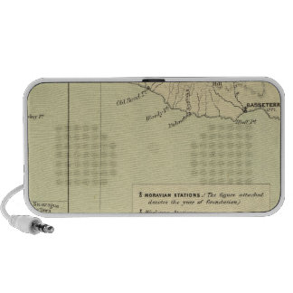 Antigua Lithographed Map Travel Speaker