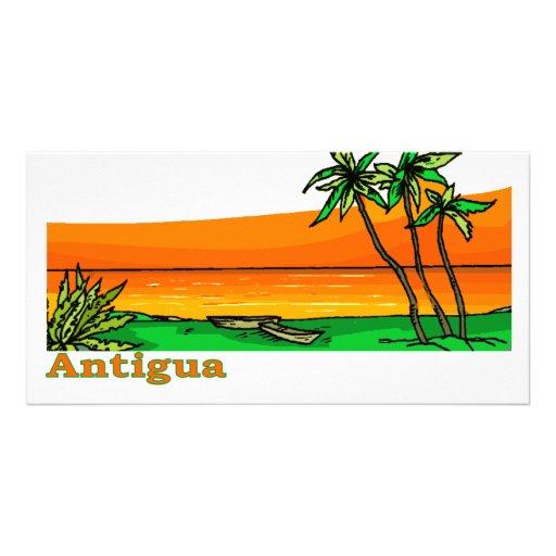 Antigua Photo Card