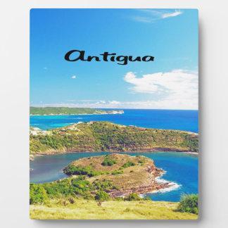 Antigua Display Plaques