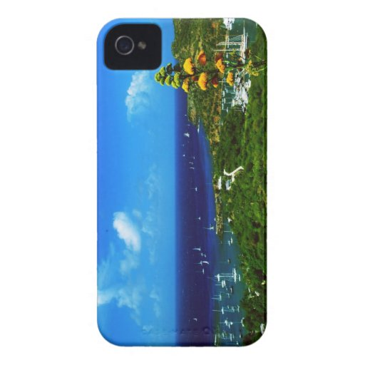 Antigua, regatas de la vela iPhone 4 funda