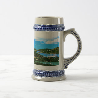 Antigua Sailboat races Beer Stein