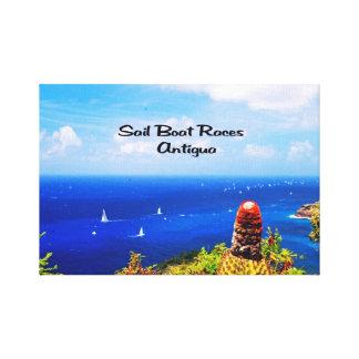 Antigua Sailboat races Canvas Print