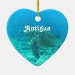 Antigua Scuba Diving Christmas Tree Ornament