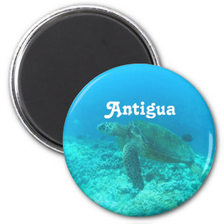 Antigua Scuba Diving Magnet