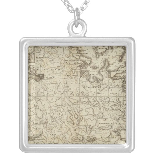 Antigua Silver Plated Necklace