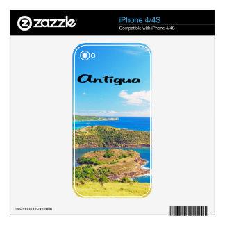 Antigua iPhone 4 Skin