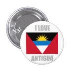 Antigua y Barbuda Pin Redondo 2,5 Cm