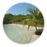 Antiguan Beach Beautiful Tropical Landscape Ceramic Knob