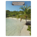 Antiguan Beach Beautiful Tropical Landscape Clipboard