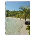 Antiguan Beach Beautiful Tropical Landscape Notebook