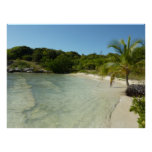 Antiguan Beach Beautiful Tropical Landscape Poster