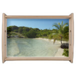 Antiguan Beach Beautiful Tropical Landscape Serving Tray