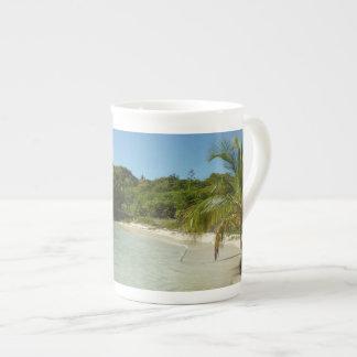 Antiguan Beach Beautiful Tropical Landscape Tea Cup