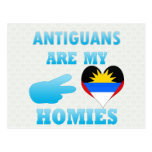 Antiguans are my Homies Postcards