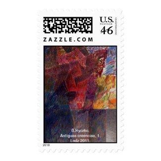Antiguas creencias, 1. stamp