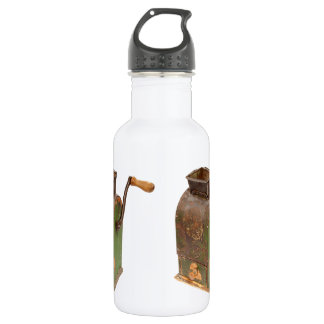 Antigue coffee mill 18oz water bottle
