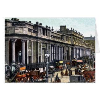 Antigüedad del Banco de Inglaterra de Londres del Tarjeta Pequeña