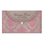 Antigüedad del beige del rosa de la tarjeta de vis plantilla de tarjeta de negocio