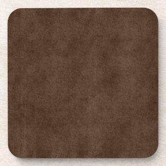 Antigüedad del pergamino de Brown oscuro del café Posavaso