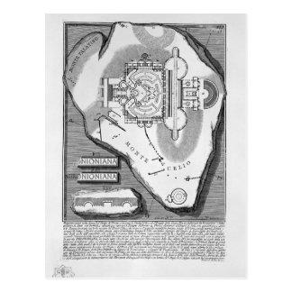 Antigüedades romanas de Juan Piranesi-The del esta Postal