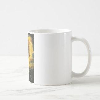Antiguo de días taza básica blanca