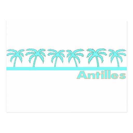Antillas Tarjeta Postal
