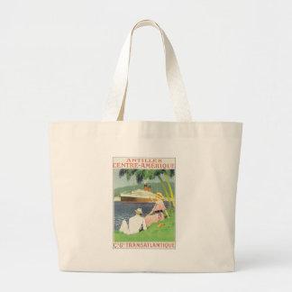 Antilles Centre Amerique Canvas Bags