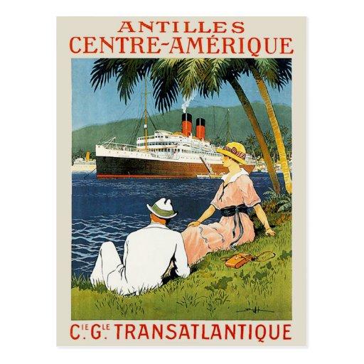Antilles Centre-Amerique Postcards