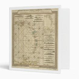 Antilles Charibbee Caribbean Virgin Isles Map 1784 Binder