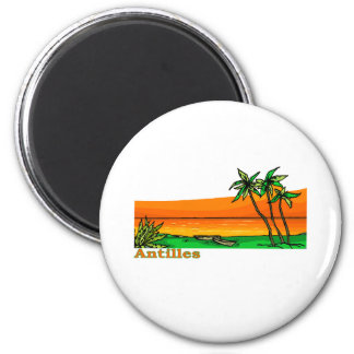 Antilles Fridge Magnet