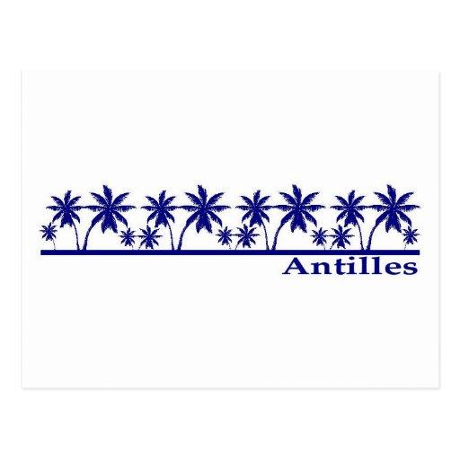 Antilles Postcard