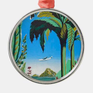Antilles Retro Design Metal Ornament