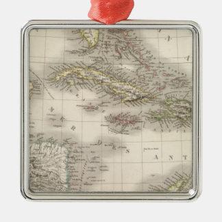 Antilles - West Indies Metal Ornament