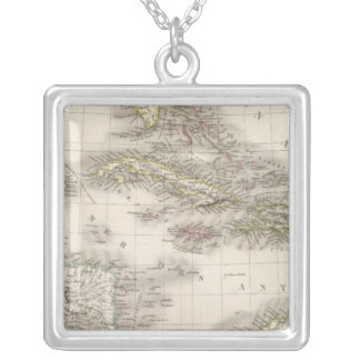 Antilles - West Indies Silver Plated Necklace