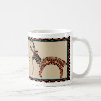 Antílope antiguo tazas