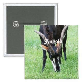 Antílope de Sable de Angola Pins