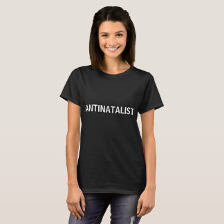 ANTINATALIST simple shirt