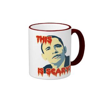 AntiObama this is scary Coffee Mug