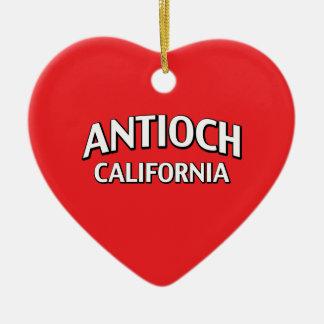 Antioch California Ceramic Ornament