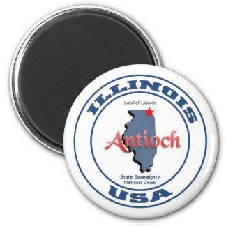 Antioch Illinois 2 Inch Round Magnet